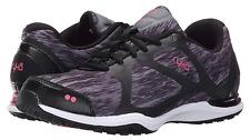 Ryka GRAFIK Women's Sneaker Athletic Grey Black Running Shoes Size 5