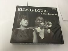 A Fine Romance [Audio 2 CD] Ella Fitzgerald and Louis Armstrong SEALED