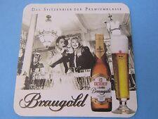Beer Coaster ~ (Heineken) EICHHOF Klosterbrau Bier ~ Luzern, Switzerland; Couple