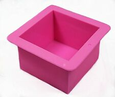 Large Hole Cake Pudding Jelly ICE Cookie Mold Handmade DIY Soap Candle Ice Mould