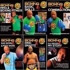 Mastering Pro Boxing Mma 6 Dvd Set Wbo Heavyweight Champ Ray Merciless Mercer
