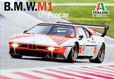 BMW M1 Procar 1:24 Model Kit Bausatz Italeri 3643