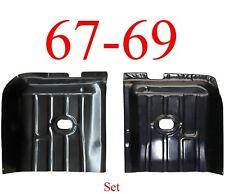 67 68 69 Camaro Firebird Rear Floor Pan Set, Both Sides Included!
