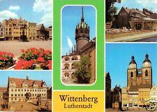AK, Lutherstadt Wittenberg, fünf Abb., 1986