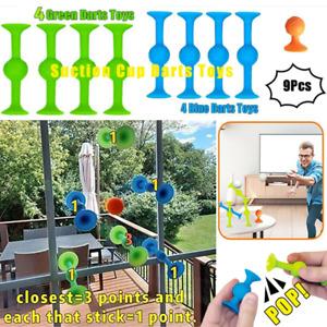 Pop Sucker Darts Toy Throwing Game Trickshot Stick Suction Cup  Game Interactive