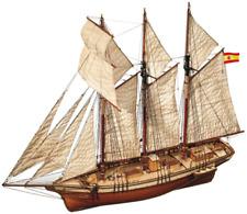 OcCre Cala Esmeralda Topsail Schooner 1 58 Scale Model Ship Kit 13002