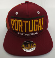 PORTUGAL SOCCER HAT CAP FUTBOL WORLD CUP FRANCHISE STRAPBACK BRAZIL 2014 MENS