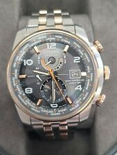 Citizen Eco-Drive Radio Controlled World Time Gently Used Watch
