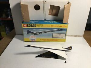Corgi 650 Concorde Bac-Sud within its original box