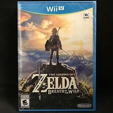 The Legend Of Zelda Breath of the Wild Wii U Brand New! Canadian seller