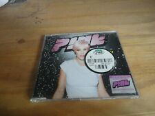 PINK - GET THE PARTY STARTED - SINGLE CD  & 2002 PINK CALENDAR