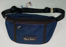 Robert Graham Hackman 3-Pocket Fanny Pack Bag Adjustable Blue Navy Large Hackman
