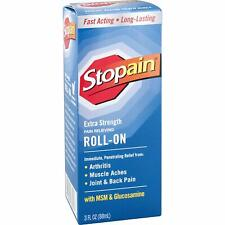 Stopain EXTRA STRENGTH Pain Relief Roll-On Arthritis/Muscle/Joints Glucosamine