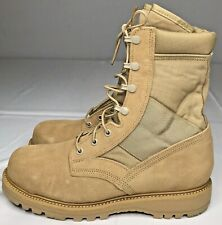 Vibram Desert Sand Suede and Leather Men's Boots Size 10R New With Tags