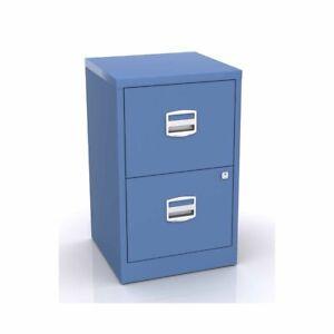 Bisley Metal Filing Cabinet 2 Drawer A4