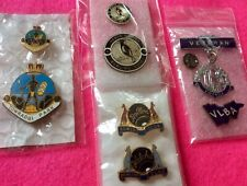 Collector BARGAIN (9) Badges Bowling CLUBS **Pairs** BOWLS Pins ... FREE POST