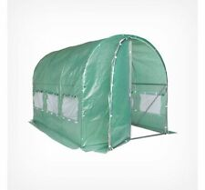 Polytunnel Greenhouse 3m x 2m - Quality 3 Section Greenhouse- Weather Protection