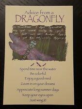 Birthday Card Dragonfly