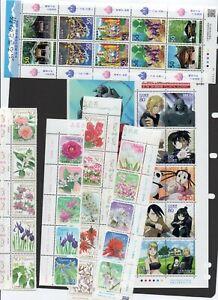 JAPAN -2010  MNH selections ,face value 15300yen(U$139)
