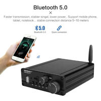 2.1 TPA3116 Bluetooth 5.0 Audio Power Subwoofer Amplifier 50Wx2+100W Digital Amp
