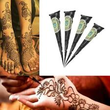 Natural Herbal Henna Cones Temporary Tattoo kit Body Ink Art Paint Mehandi E4R9