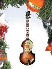 "Miniature 5"" E-Bass Guitar Hanging Tree Ornament OBG12PM"