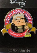 Disney Dlrp Paris Trading Night Logo Pixar Up Movie Carl Fredricksen Le 400 Pin