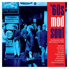 '60s Mod Soul - 40 Influential Soulful Mod Classics 2CD 2018 NEW/SEALED