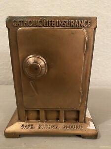 Vintage Catholic Life Insurance Metal Bank Limited Edition 1774/2000