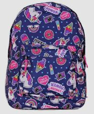 """Unicorn Power Front all over Print 16"""" School Backpack"""