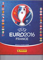Panini EM 2016 in Frankreich aus Liste 20 Sticker aussuchen auch Glitzer