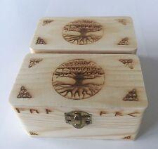 Joyería Artesanal De Madera-Botones-cambio De Repuesto baratijas-etc. cajas x2
