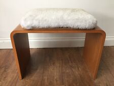 VINTAGE 60s DRESSING TABLE STOOL MADE BY (SCHREIBER)