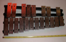 Ludwig Musser 20 Key Xylophone Black & Silver Used Band Musical Instrument