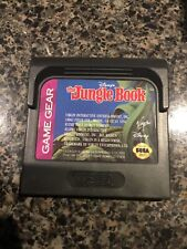 Disney's The Jungle Book Majesco Sales, Inc. (Sega Game Gear, 2000) Tested Cart