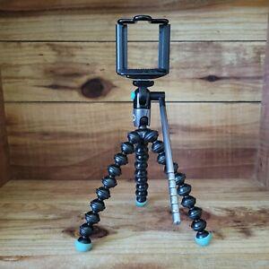 JOBY GorillaPod Mini Video Tripod with Smartphone Holder - Black/Blue