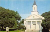 St Simons Island Georgia~First Baptist Church~1950s Postcard