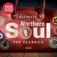 ULTIMATE NORTHERN SOUL -  THE CLASSICS NEW & SEALED 5x CD set  R&B 60s 70s