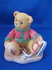 Cherished Teddies, Enesco, Avon Excl. Jerome, Skates, Sweater  NIB