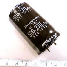 Rubycon MXG Electrolytic Capacitor 500V 270uF 105'C OL0619B