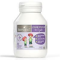 Bio Island Lysine for Youth / Children 60 Chewable Tablets posts internationally