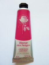 L'OCCITANE ROSE DES NEIGES HAND CREAM 30ml