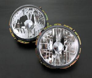 VW Rabbit Golf MK1 1 Beetle Clear Euro E-Code Front Sport Headlight Headlamp