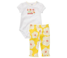 Carter's 2-piece Bodysuit & Pull-On Pants Set (GBC-JP532), Size: 3 months