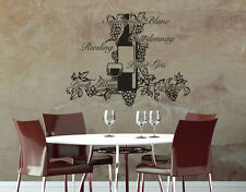 Wine Decor: Pinot, Chardonnay, Sauvignon... - highest quality wall decal sticker