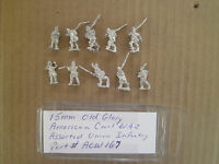 15mm Old Glory  American Civil war  Assorted Union  Infantry # 167