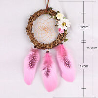 Handmade Dream Catcher Feather Bedroom Wall Car Hanging Decor Ornament Gift