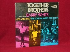 OST LP TOGETHER BROTHERS BARRY WHITE 1974 20TH CENTURY SEALED ORIGINAL PRESSING