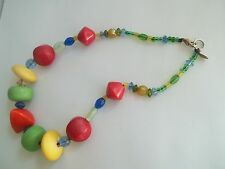 """TERESA GOODALL necklace,great pre-own cnd,16""""long,"""