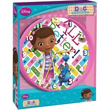 Official Licensed Disney Children's Bedroom 24cm Wall Clock - Doc McStuffins
